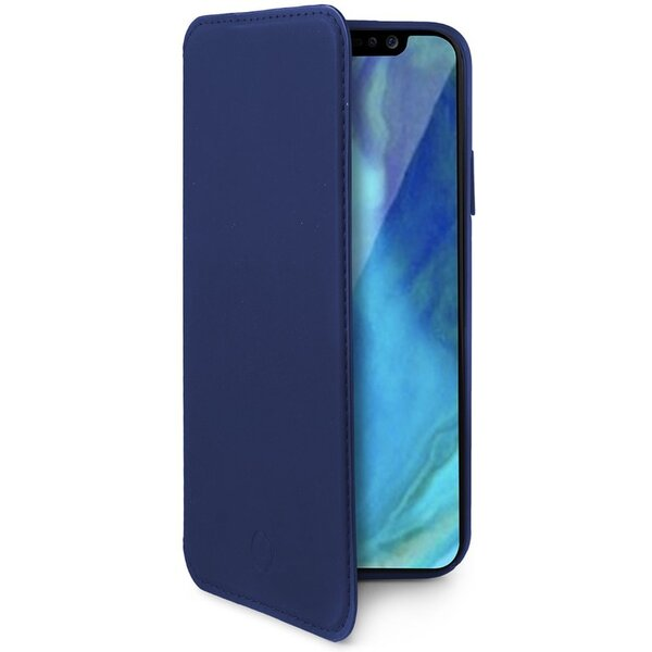 CELLY Prestige pouzdro typu kniha Apple iPhone XS Max modré