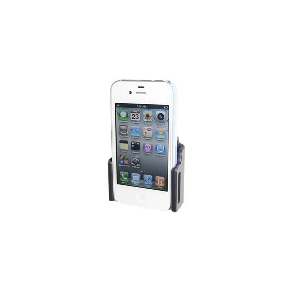Brodit držák do auta na mobilní telefon nastavitelný, bez nabíjení, š. 62-77 mm, tl. 6-10 mm 511307 Černá