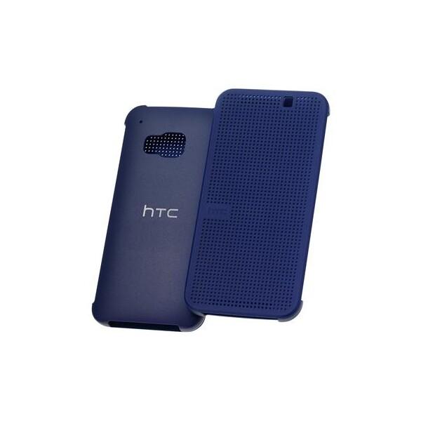 HTC HC M231 Dot Flip pouzdro HTC One M9 modré