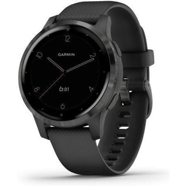 Garmin vívoactive 4S šedé/černé