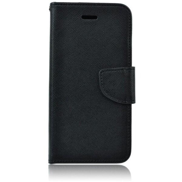 Smarty flip pouzdro Lenovo K5/K5 Plus černé Černá