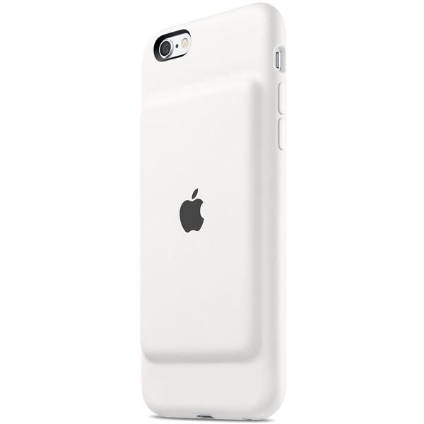 Apple iPhone 6/6S Smart Battery Case zadní kryt s baterií bílý