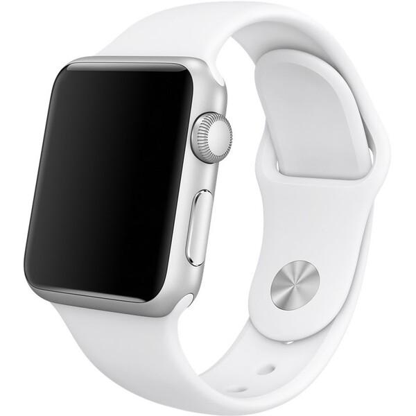 Apple Watch sportovní řemínek 38mm bílý
