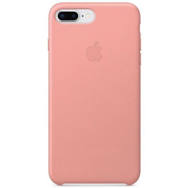 Pouzdro Apple iPhone 8 Plus / 7 Plus Leather Case - bledě růžové Bledě růžová