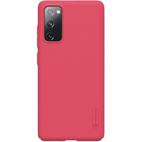 Nillkin Super Frosted kryt Samsung Galaxy S20 FE červený