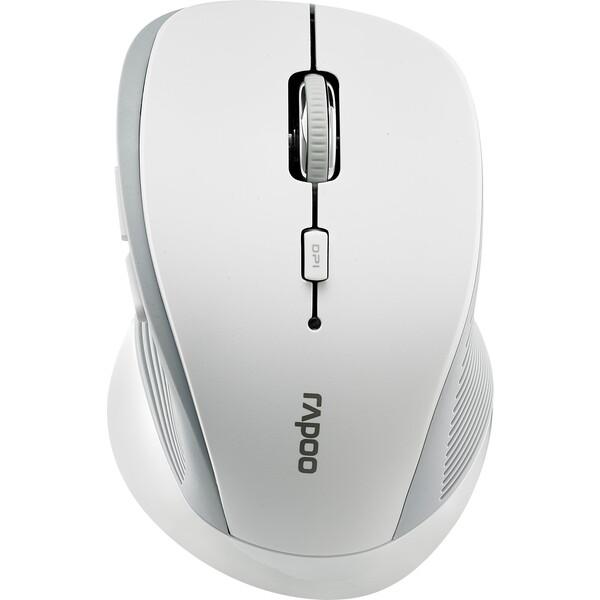 Rapoo 3910 laserová bezdrátová myš bílá