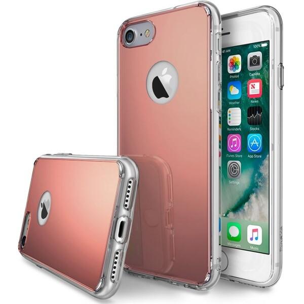 Ringke Mirror pouzdro Applei Phone 7 růžově zlaté