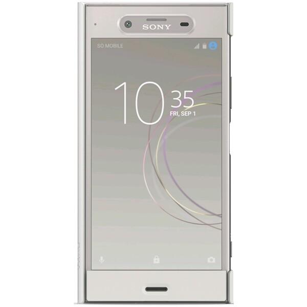 Sony Style Cover Touch ochranné pouzdro Sony Xperia XZ1 stříbrné