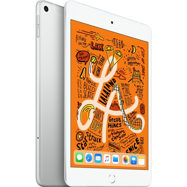 Apple iPad mini Wi-Fi+Cellular 64GB Silver MUX62FD/A Stříbrná