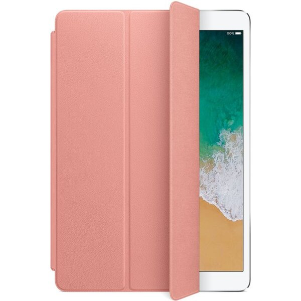 """Apple Leather Smart Cover kožený přední kryt iPad Air 10,5"""" bledě růžový"""
