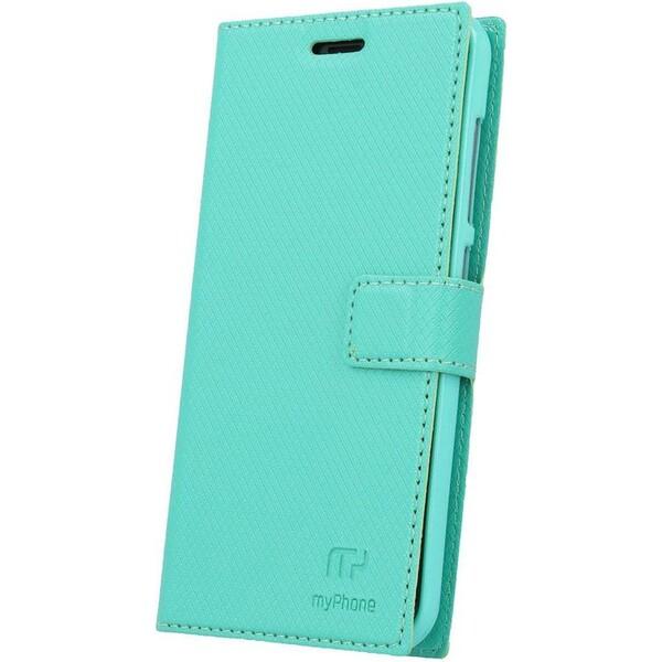 myPhone flipové pouzdro myPhone Fun 6 Lite zelené