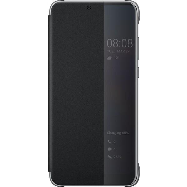 Huawei S-View Cover Huawei P20 černé 51992399 Černá