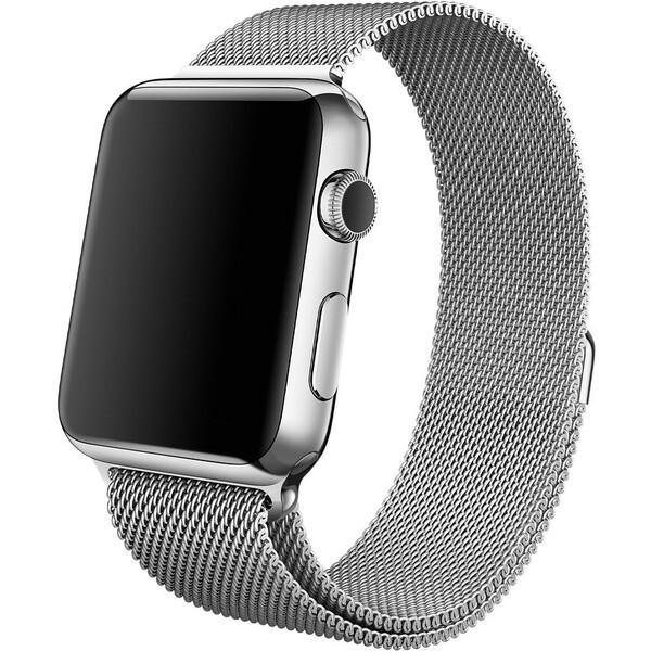 Apple Watch Milanese Loop 42mm MJ5F2ZM/A Stříbrná