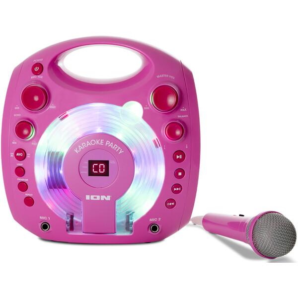ION Karaoke Party Pink Růžová