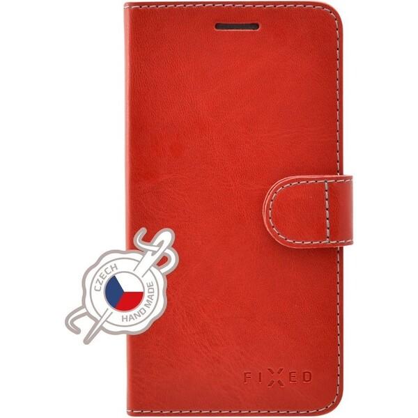 Pouzdro FIXED FIT typu kniha Samsung Galaxy J5 2017 červené Červená