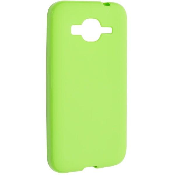 FIXED TPU pouzdro Samsung Galaxy Core Prime zelené