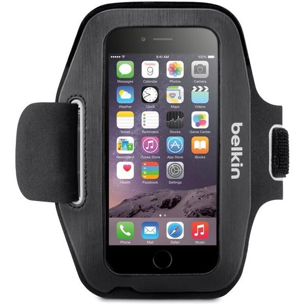 Belkin sportovní pouzdro Apple iPhone 6, černé (F8W500btC00)