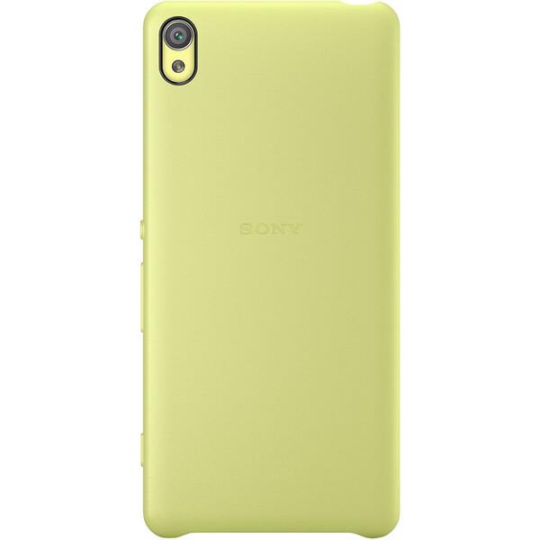 Pouzdro Sony SBC34 Style Back Cover Xperia XA Ultra Lime Zlatá