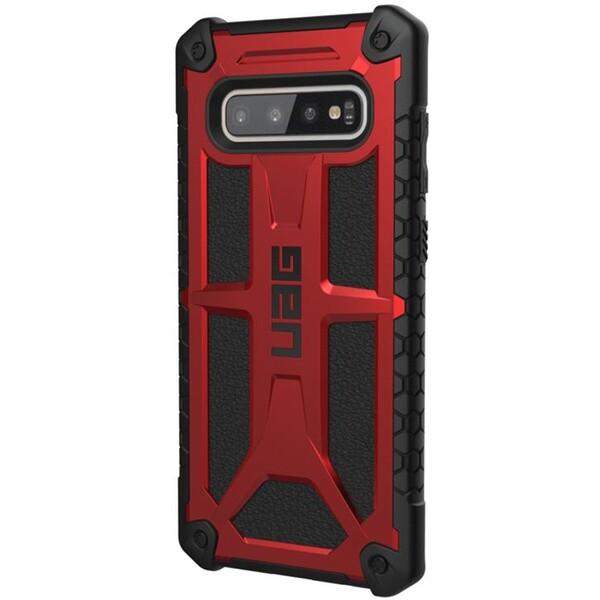 UAG Monarch pouzdro Samsung Galaxy S10+ červené