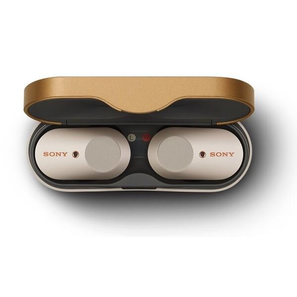 Sony WF-1000XM3 bezdrátová sluchátka s ANC stříbrná