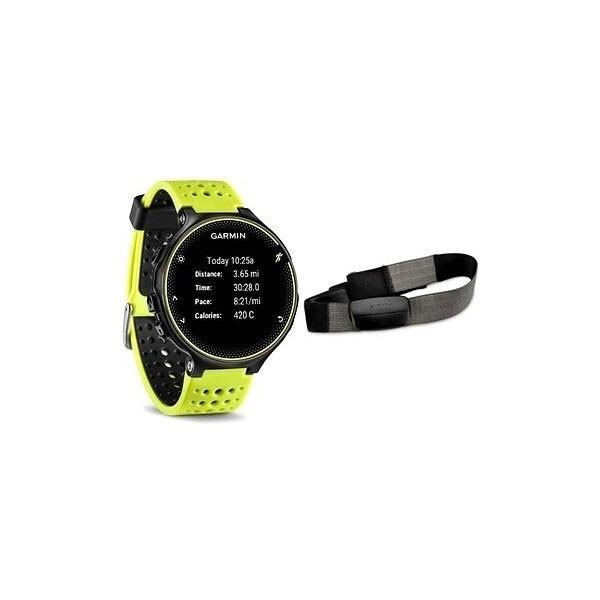 Garmin Forerunner 230 GPS hodinky HR Premium žlutý + hrudní pás