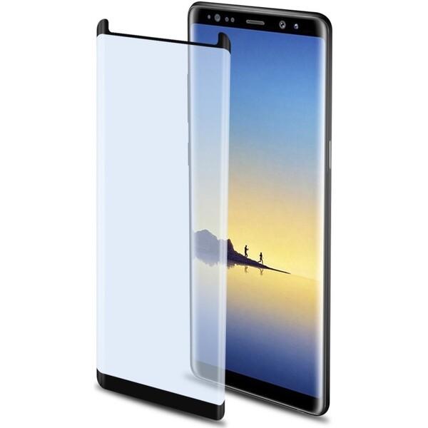 CELLY Glass Ochranné tvrzené sklo Samsung Galaxy Note 8 GLASS674F Černá