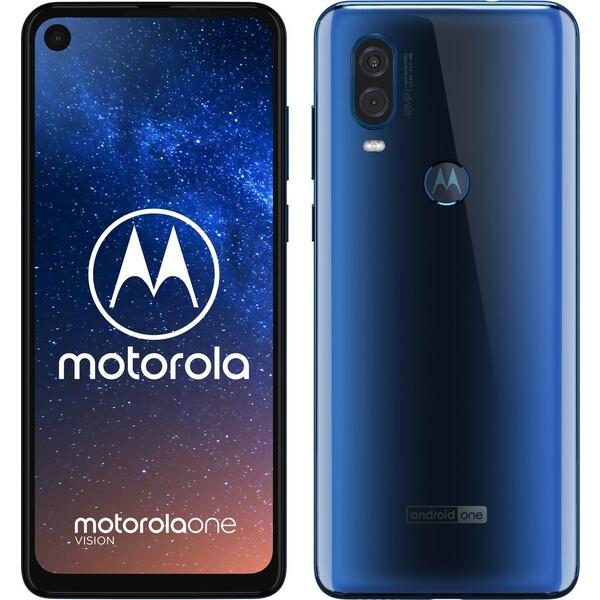 Motorola Moto One Vision Safírová