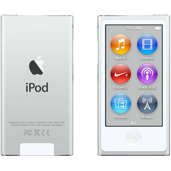 Apple iPod nano 16GB MKN22HC/A Stříbrná