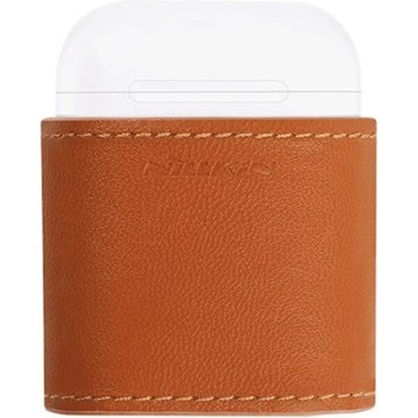 Nillkin Apple AirPods Mate Wireless bezdrátové pouzdro hnědé