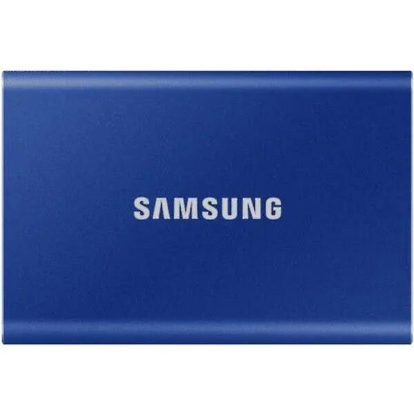 Samsung Portable SSD T7 500GB modrý