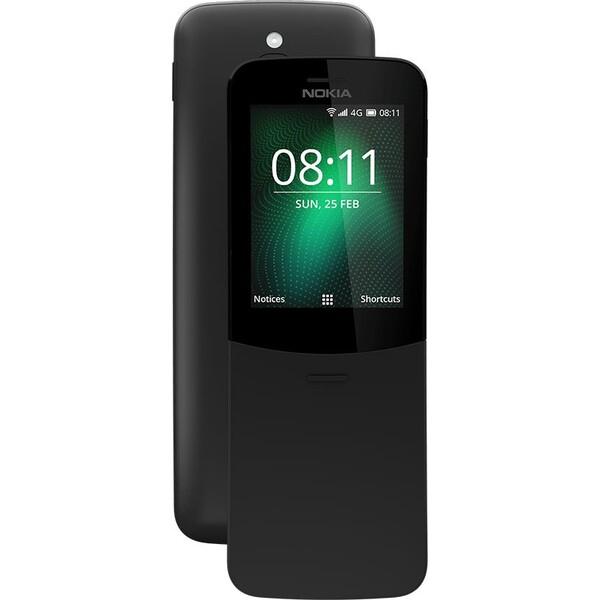 Nokia 8110 4G Dual SIM Černá