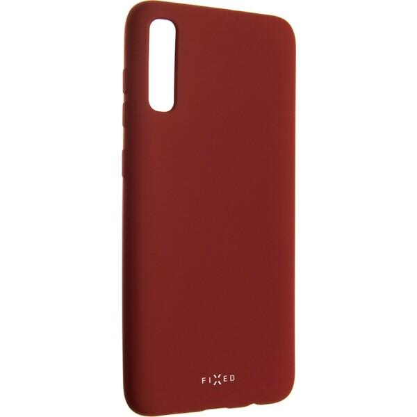 FIXED Story silikonový kryt Samsung Galaxy A70 červený