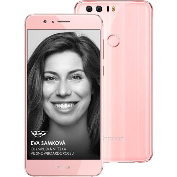 Honor 8 64GB Premium Dual SIM Růžová