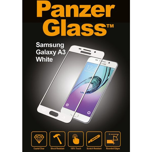 PanzerGlass tvrzené sklo pro Samsung Galaxy A3 (2016) 5711724015670 Bílá