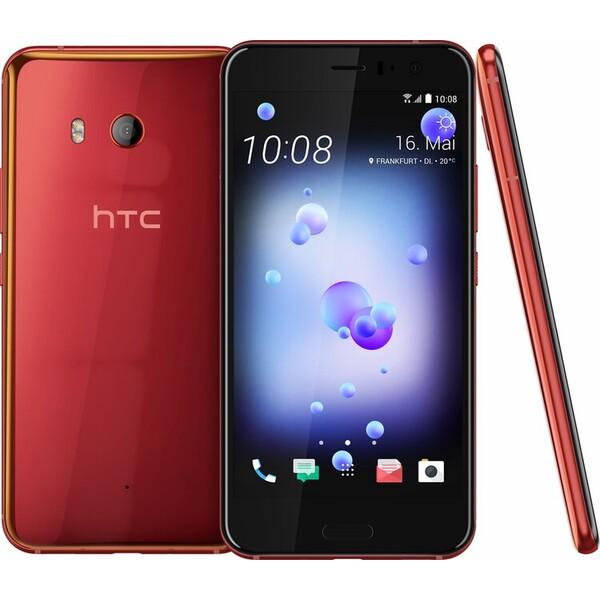 HTC U11 Červená