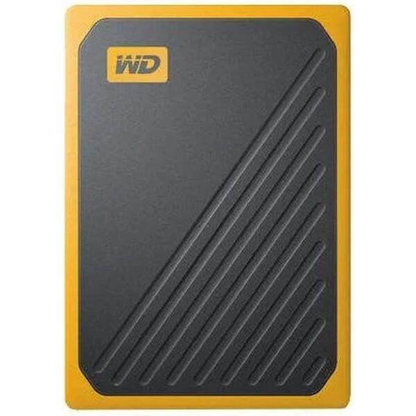WD My Passport GO SSD 500GB černožlutý