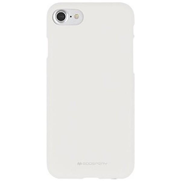 Mercury Soft Feeling pouzdro Apple iPhone 7/8 bílé