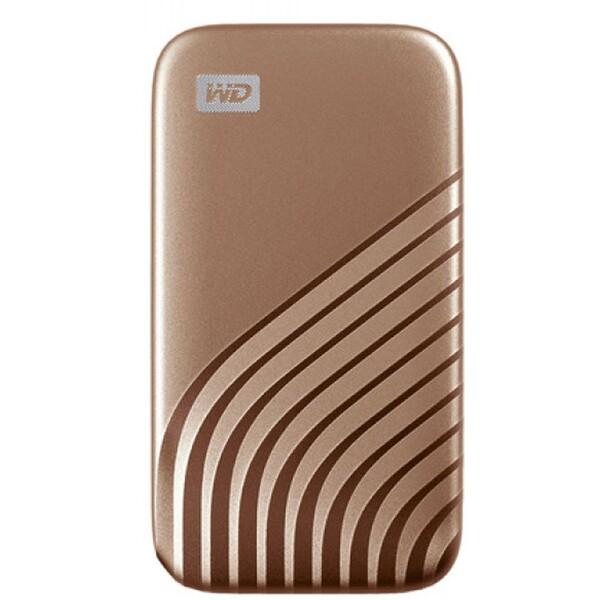 WD My Passport externí SSD 500GB zlatý
