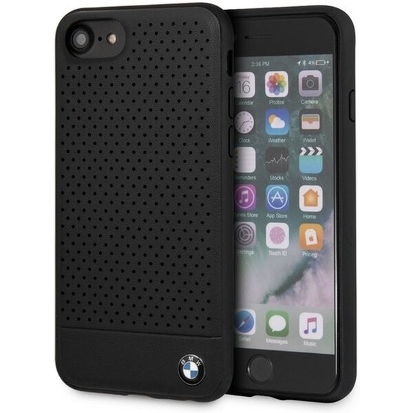 BMW BMHCI8PEBOBK original case iPhone 7/8 Černá