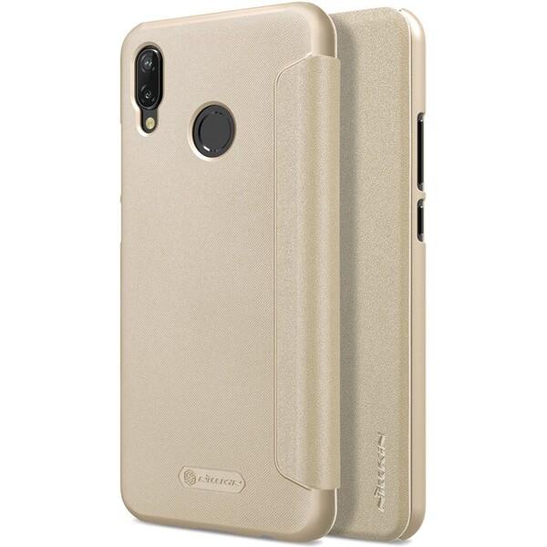 Pouzdro Nillkin Sparkle Folio Huawei P20 Lite Zlatá