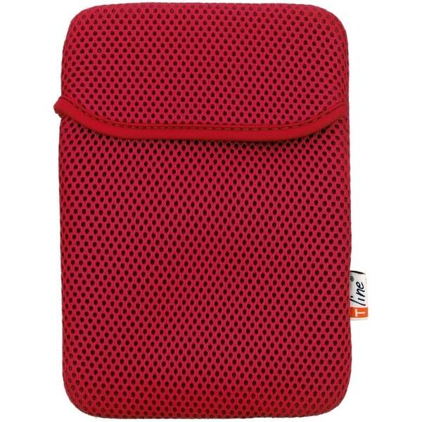 """Smarty tablet case 7"""" vzorovaný červený"""
