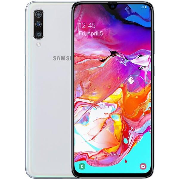 Samsung Galaxy A70 Bílá