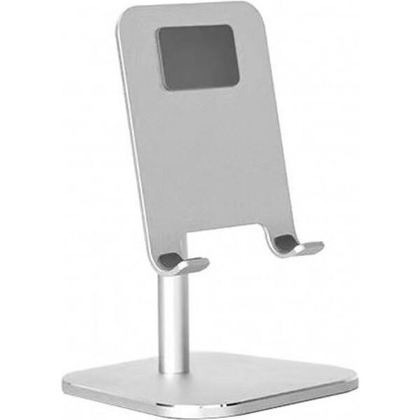 COTEetCI SD-16 mini hliníkový podstavec pro mobilní telefony stříbrný