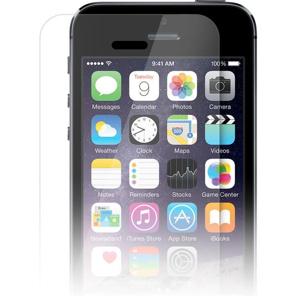 iWant 2D temperované sklo 0,3mm / tvrdost 9H na iPhone 5/5C/5S/SE Čirá