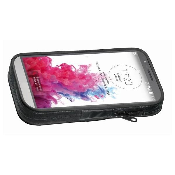 Pouzdro CellularLine voděodolné Interphone SM57 černé Černá