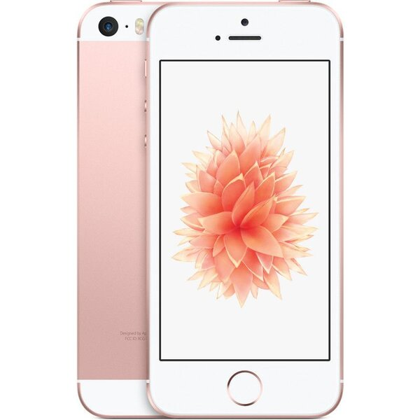 "Apple iPhone SE 64GB / 4"" Retina / 12MPx /MLXQ2CS/A / Růžově zlatá"