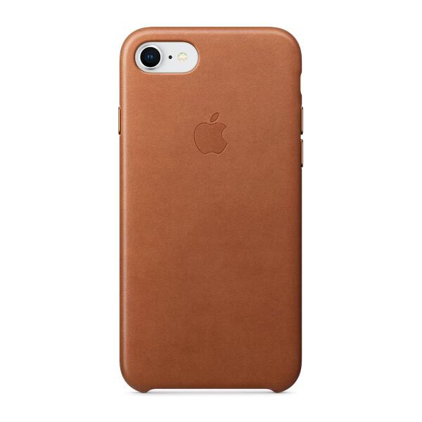 Pouzdro Apple Leather Case iPhone 8/7 - sedlově hnědé Sedlově hnědá