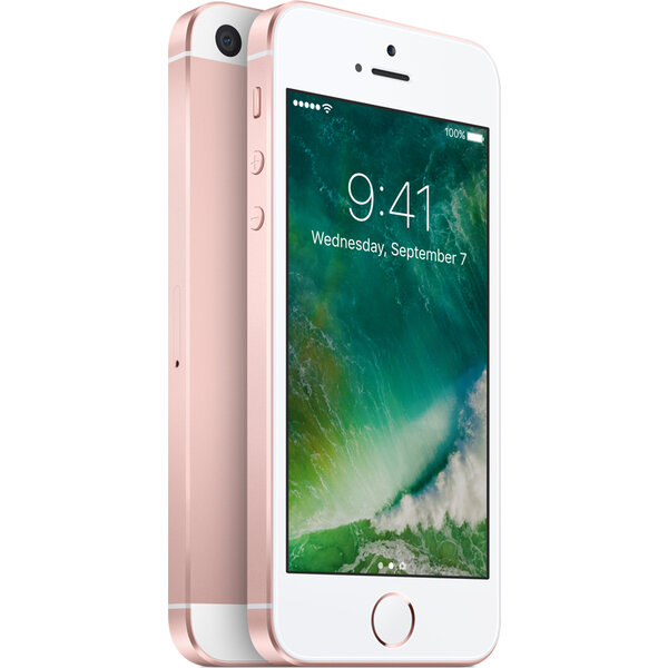 Apple iPhone SE 128GB Růžově zlatá