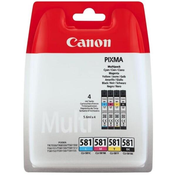Canon BJ CARTRIDGE CLI-581 C/M/Y/BK MULTI BLISTER
