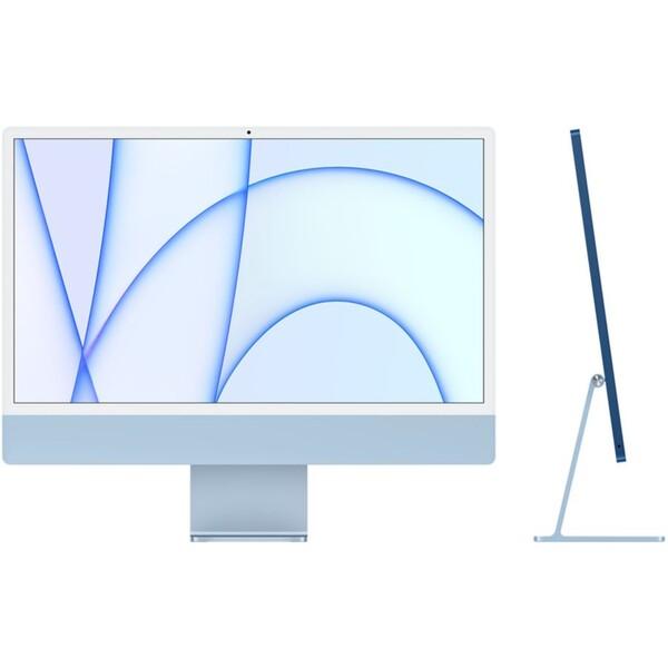 """Apple iMac 24"""" (2021) / 8GPU / 256GB modrý"""
